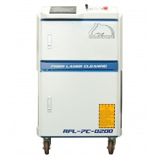 200w Fiber laser cleaning machine for metal with rust, paint, oil, coating, dirt, etc