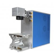 20W Portable Fiber Laser Marking Engraving Machine Metal & Non-metal Engraving System With PC (express free to your door)