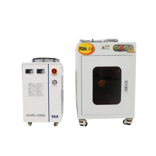 20w Mopa Fiber Laser Color Marking Machine For Stainless Steel