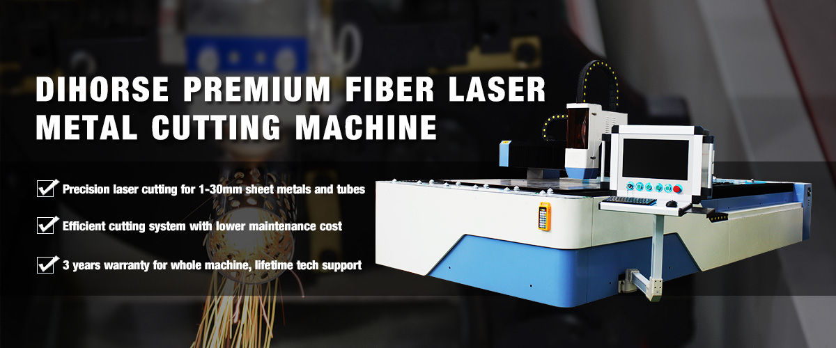 DIHORSE fiber laser metal cutting machine