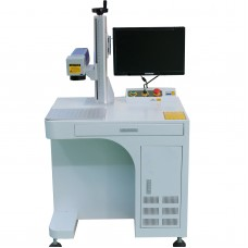 20W MOPA Fiber Laser Color Marking Machine, Stainless Steel Color Engraving Etching Tool  (express free to your door)