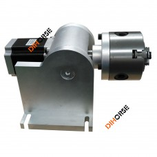 80mm 3-Jaw Rotary Axis Rotary Attachment for Fiber Laser Marking Machine